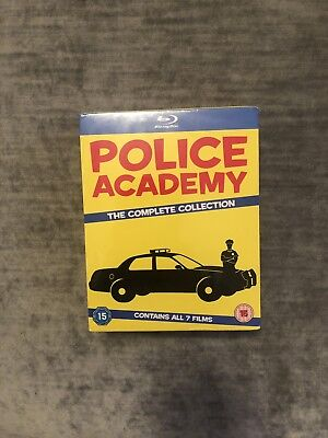 Police Academy 1-7 The Complete Collection Blu-ray NEW