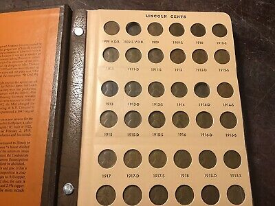 1909-2018 LINCOLN HEAD PENNY COLLECTION a Set of High Grade Cents w/1909s & 31s