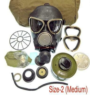 Military Soldier Russian Army GAS MASK PMK-2 Mask Filter Bag Size-2 Uniform USSR
