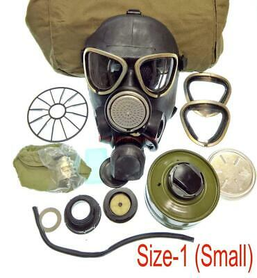 Military Soldier Russian Army GAS MASK PMK-2 Mask Filter Bag Size-1 Uniform USSR