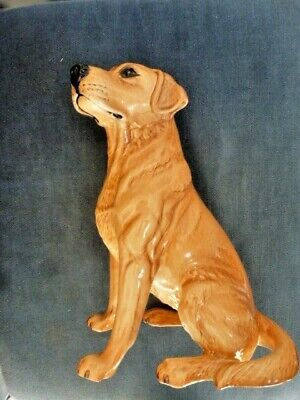 Vintage Beswick Large Solomon Of Wendover Labrador Ornament Perfect Condition Pottery