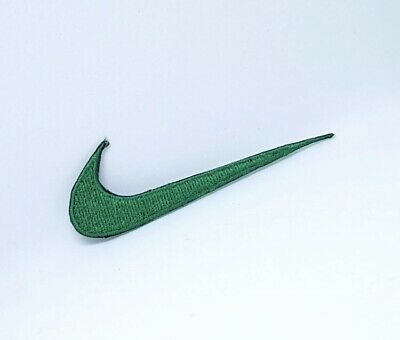 Nike Sports Brand Logo Iron On Sew On Embroidered Patch # GREEN