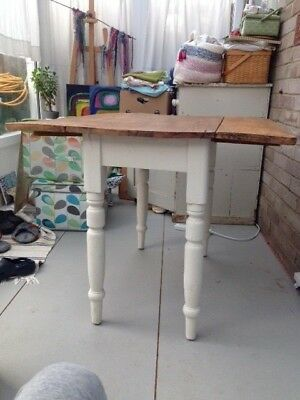 Victorian Pine, Drop Leaf Pembroke Table