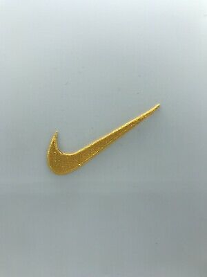 Nike Sports Brand Logo Iron On Sew On Embroidered Patch # YELLOW