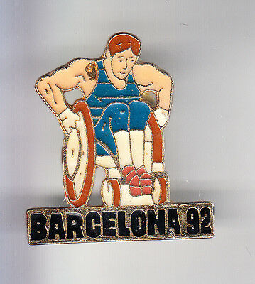 Rare Pins Pin's .. Olympique Olympic Jeux Handicape Para . Barcelone 1992 ~15