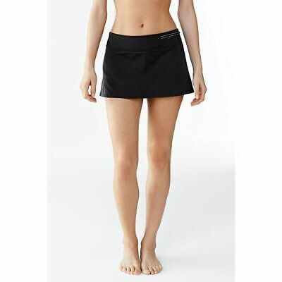 7329cb8dbc Lands End Aquasport swim mini skirt bikini bottom swimsuit size 4