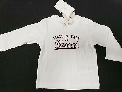 193943aabe96 NWT NEW GUCCI baby toddler boys white polo blue logo collar 12/18m ...