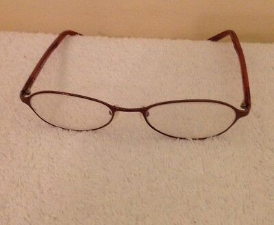 2672308718b Gucci GG1665 613 135 Italy Designer Eyeglass Frames Glasses Bronze Color