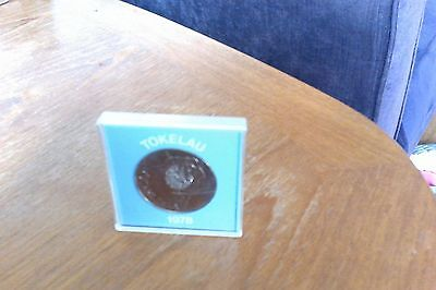 Silver Proof Tokelau 1978 One Dollar Coin In Original Encapsulation