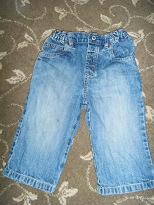 Marks And Spencer - Boy Jeans - Age 12 To 18 Months