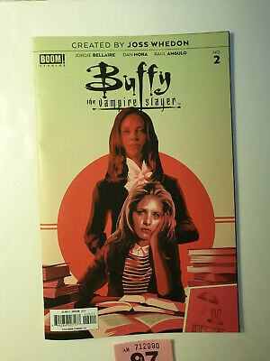 Buffy the Vampire Slayer #2 Cover A Taylor 2019 NM Boom Studios