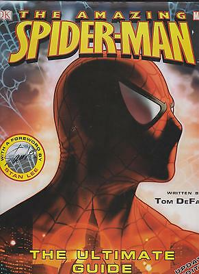 The Amazing Spiderman Ultimate Guide Updated Edition Book Marvel Tom Defalco