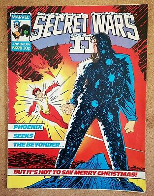 Magazine - UK Marvel Secret Wars II (2) Super Heroes Comics - Various Issues