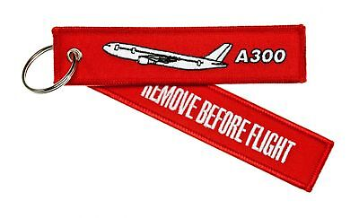 Remove before Flight Pendant - A300 Airbus