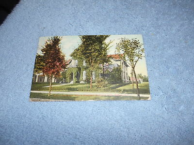 ( G ) Post Card - Mckinley Residence Where Pres. Mckinley  Died Buffalo, Ny 1911