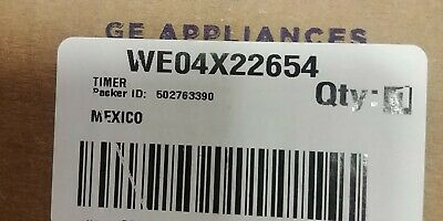 OEM WE04X22654 GE Washer Dryer Combo Timer WE4M521