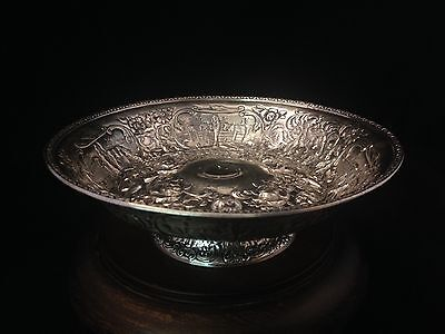 Antique SilverPlate  DERBY S. P. CO. International S CO #762 Bowl
