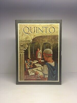 Vintage 1964 Quinto By Avalon Hill 3M Bookshelf Games