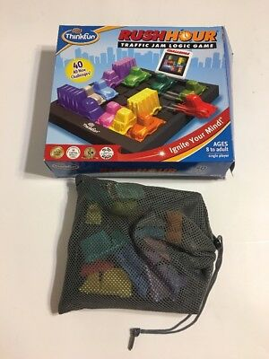 Rush Hour: Traffic Jam Logic Game by Think Fun Pre Owned Complete