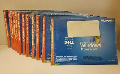 NEW Microsoft Windows XP Pro 2002 X08-42684 Reinstallation SP2 PC Dell 0JD188
