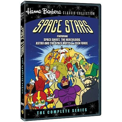 Space Stars: The Complete Series DVD HANNA BARBERA NEW RELEASE!!!