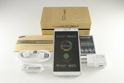 New Samsung Galaxy Note 3 III SM-N900T White 32GB 13MP T-Mobile Unlocked GSM