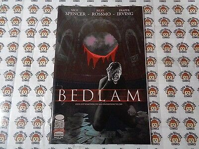 Bedlam (2012) Image - #1, Over-Sized, Nick Spencer/Riley Rossmo, VF+