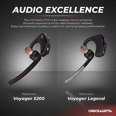 BEST FIT IN Ear Replacement Tips Upgrade For Plantronics Voyager