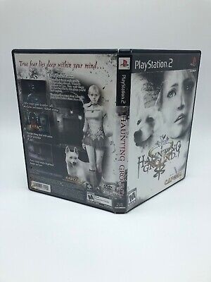 PS2 Haunting Ground *COVER ONLY* NO GAME/NO MANUAL *OFFICIAL*