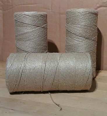 4 or 5 ply Unpolished Flax/Linen Horticultural Twine