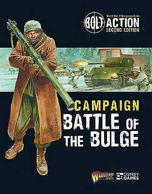 Warlord - Bolt Action - Campaign - Battle Of The Bulge - Softcover - 124 Pages