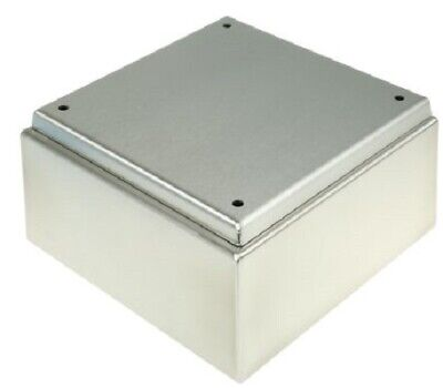 Rittal 304 Stainless Steel Wall Box IP66, IP69K, 120mm x 200 mm x 200 mm