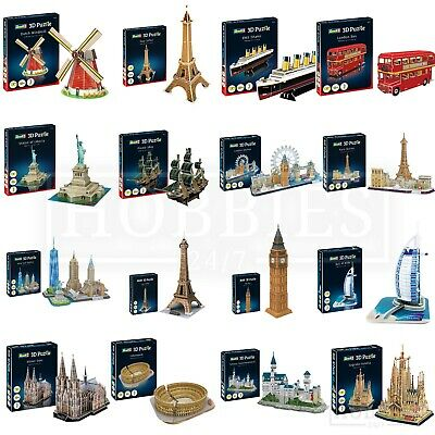 Puzzles & Geduldspiele New York Skyline #00142 Revell 3d Puzzle