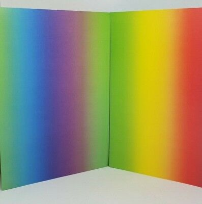 10 x A4 Sheets Double-Sided RAINBOW Card - 300gsm