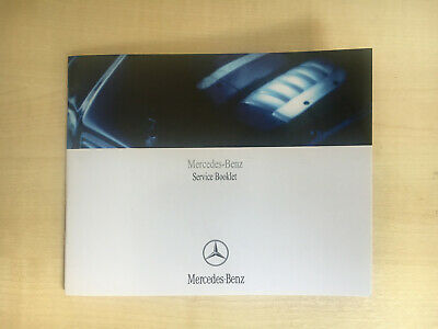 Mercedes Benz Service Book Genuine Blank Not Duplicate  All Models Cars And Vans