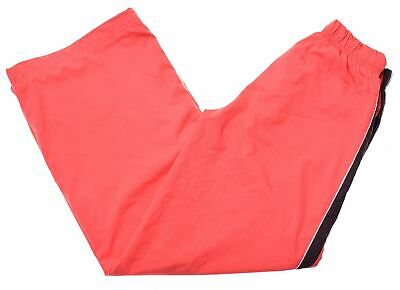 NIKE Girls Tracksuit Trousers 12-13 Years Large Red Polyester Vintage GJ06