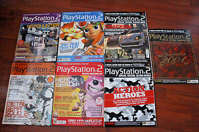 Job Lot Of Official Playstation 2 Magazines, (Lot 8).