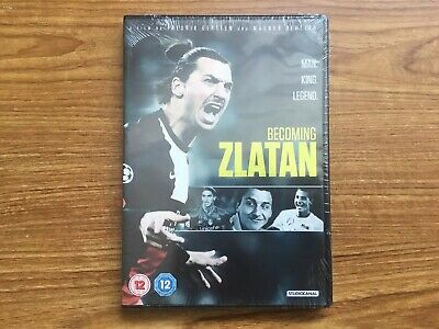 Becoming Zlatan [DVD] NEW Fast Post
