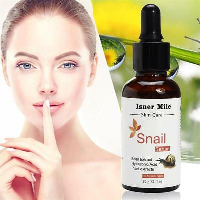 99% Snail Serum Repair Solution Hyaluronic Acid Liquid Whitening Cream Moisturiz