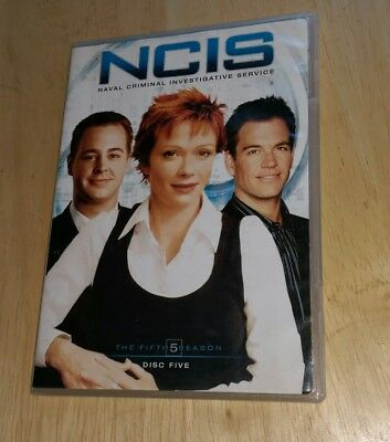 NCIS Naval Criminal Investigative Service Fifth Season Disc Five only DVD show