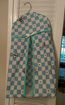 vintage 1999 Baby Looney Tunes diaper holder for nursery Babies Room Butterfly