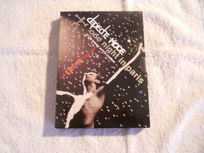 "Depeche Mode ""One Night in Paris"" Exciter Tour 2001  2 DVD Box New $"