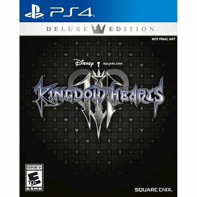 Brand New Sealed Kingdom Hearts III Deluxe Edition Sony PS4 Playstation 4 Pro