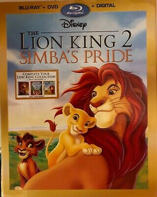 Lion King 2 (Bluray, or DVD)  -Buy Any Part- Mint Cond.-READ DESCRIPTION!!!!