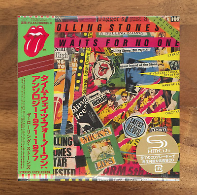 Japan Only Shm-Cd Mini-Lp! Rolling Stones Time Waits For No One 1971-1977 2019