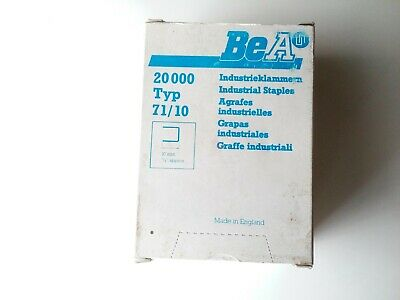 Bea Type 71/10 Industrial Staples