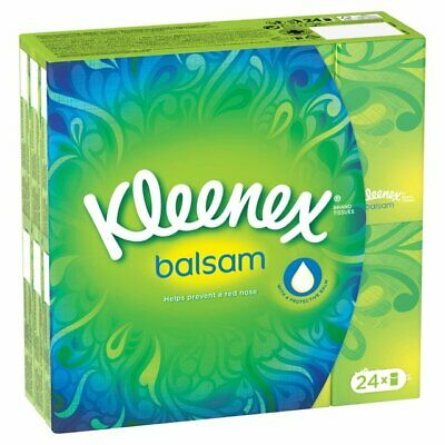 Kleenex Balsam Pocket Tissues 24 Packs