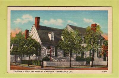 Postcard ~ Home of Mary the mother of Washington Fredericksburg ~ Vintage 6068