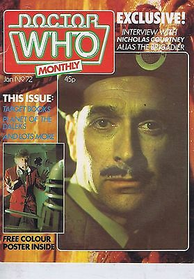 DR WHO MAGAZINE no. 72