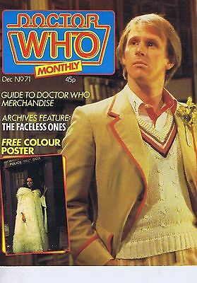 DR WHO MAGAZINE no. 71